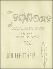 Page 7, 1944 Edition, Buckland High School - Whitefeather Yearbook (Wapakoneta, OH) online yearbook collection