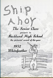 Page 5, 1952 Edition, Buckland High School - Whitefeather Yearbook (Wapakoneta, OH) online yearbook collection