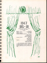 Page 5, 1947 Edition, Pike Delta York High School - Del Hi Yearbook (Delta, OH) online yearbook collection