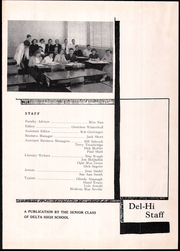 Page 5, 1951 Edition, Pike Delta York High School - Del Hi Yearbook (Delta, OH) online yearbook collection