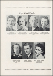 Page 12, 1941 Edition, Jefferson High School - Delphi Yearbook (Delphos, OH) online yearbook collection