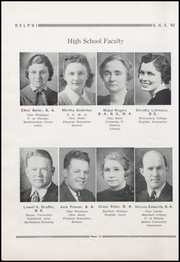 Page 16, 1942 Edition, Jefferson High School - Delphi Yearbook (Delphos, OH) online yearbook collection
