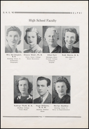 Page 17, 1942 Edition, Jefferson High School - Delphi Yearbook (Delphos, OH) online yearbook collection