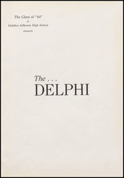 Page 5, 1944 Edition, Jefferson High School - Delphi Yearbook (Delphos, OH) online yearbook collection