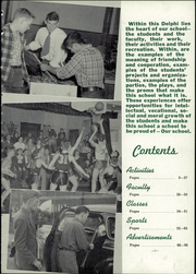 Page 7, 1950 Edition, Jefferson High School - Delphi Yearbook (Delphos, OH) online yearbook collection