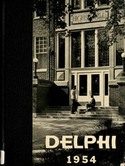 1954 Edition, Jefferson High School - Delphi Yearbook (Delphos, OH)