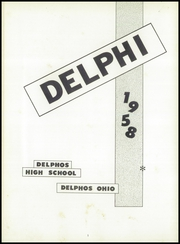 Page 5, 1958 Edition, Jefferson High School - Delphi Yearbook (Delphos, OH) online yearbook collection