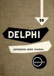 1959 Edition, Jefferson High School - Delphi Yearbook (Delphos, OH)