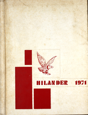 1971 Edition, Hiland High School - Hilander Yearbook (Berlin, OH)
