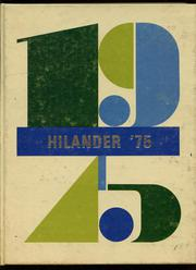 1975 Edition, Hiland High School - Hilander Yearbook (Berlin, OH)