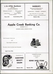 Page 53, 1957 Edition, Waynedale High School - Hill n Dale Yearbook (Apple Creek, OH) online yearbook collection