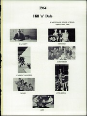 Page 5, 1964 Edition, Waynedale High School - Hill n Dale Yearbook (Apple Creek, OH) online yearbook collection