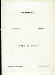 Page 5, 1965 Edition, Waynedale High School - Hill n Dale Yearbook (Apple Creek, OH) online yearbook collection