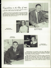Page 9, 1965 Edition, Waynedale High School - Hill n Dale Yearbook (Apple Creek, OH) online yearbook collection