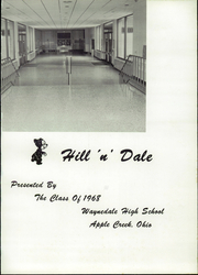 Page 5, 1968 Edition, Waynedale High School - Hill n Dale Yearbook (Apple Creek, OH) online yearbook collection