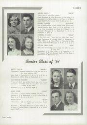 Page 16, 1941 Edition, Vanlue High School - Scarlet and Grey Yearbook (Vanlue, OH) online yearbook collection