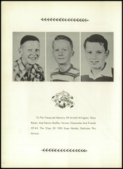 Page 6, 1955 Edition, Vanlue High School - Scarlet and Grey Yearbook (Vanlue, OH) online yearbook collection