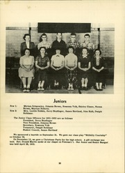 Page 24, 1952 Edition, Chatfield High School - Tiger Stripe Yearbook (Chatfield, OH) online yearbook collection