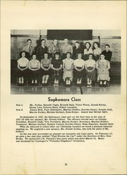 Page 25, 1952 Edition, Chatfield High School - Tiger Stripe Yearbook (Chatfield, OH) online yearbook collection