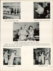 Page 17, 1957 Edition, Chatfield High School - Tiger Stripe Yearbook (Chatfield, OH) online yearbook collection