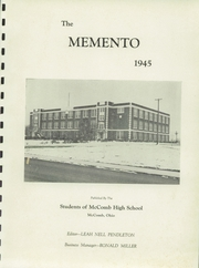 Page 5, 1945 Edition, McComb High School - Momento Yearbook (McComb, OH) online yearbook collection