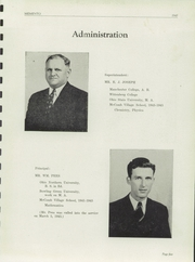 Page 9, 1945 Edition, McComb High School - Momento Yearbook (McComb, OH) online yearbook collection