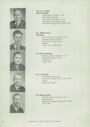 Page 12, 1947 Edition, McComb High School - Momento Yearbook (McComb, OH) online yearbook collection