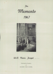 Page 5, 1947 Edition, McComb High School - Momento Yearbook (McComb, OH) online yearbook collection