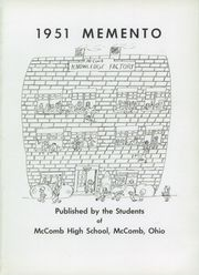 Page 5, 1951 Edition, McComb High School - Momento Yearbook (McComb, OH) online yearbook collection