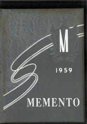 1959 Edition, McComb High School - Momento Yearbook (McComb, OH)
