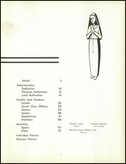 Page 7, 1954 Edition, St Joseph High School - Viking Yearbook (Cleveland, OH) online yearbook collection