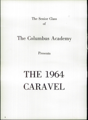 Page 6, 1964 Edition, Columbus Academy - Caravel Yearbook (Gahanna, OH) online yearbook collection