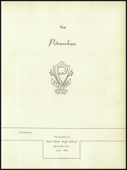 Page 5, 1956 Edition, St Peters High School - Petrarchan Yearbook (Mansfield, OH) online yearbook collection