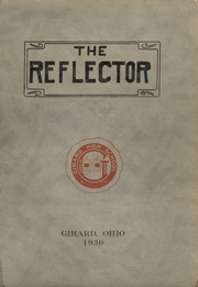 Page 1, 1930 Edition, Girard High School - Reflector Yearbook (Girard, OH) online yearbook collection