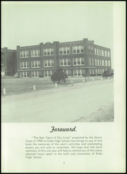 Page 7, 1950 Edition, Elida High School - Reflector Yearbook (Elida, OH) online yearbook collection