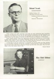 Page 10, 1953 Edition, Elida High School - Reflector Yearbook (Elida, OH) online yearbook collection
