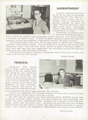 Page 12, 1955 Edition, Elida High School - Reflector Yearbook (Elida, OH) online yearbook collection