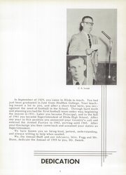 Page 9, 1955 Edition, Elida High School - Reflector Yearbook (Elida, OH) online yearbook collection