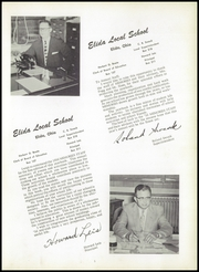 Page 9, 1956 Edition, Elida High School - Reflector Yearbook (Elida, OH) online yearbook collection
