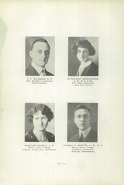 Page 12, 1925 Edition, Hoover High School - Viking Yearbook (North Canton, OH) online yearbook collection