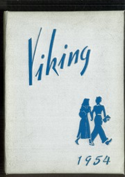 1954 Edition, Hoover High School - Viking Yearbook (North Canton, OH)