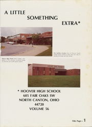Page 5, 1981 Edition, Hoover High School - Viking Yearbook (North Canton, OH) online yearbook collection