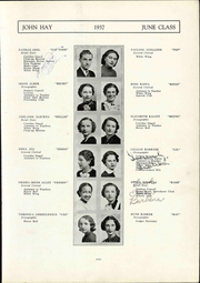 Page 17, 1937 Edition, John Hay High School - Reflections Yearbook (Cleveland, OH) online yearbook collection