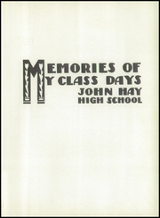 Page 5, 1943 Edition, John Hay High School - Reflections Yearbook (Cleveland, OH) online yearbook collection