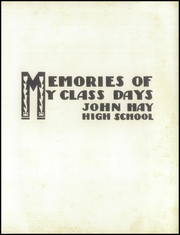 Page 5, 1946 Edition, John Hay High School - Reflections Yearbook (Cleveland, OH) online yearbook collection