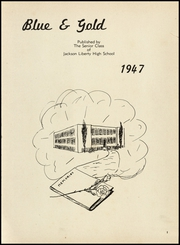 Page 5, 1947 Edition, Jackson High School - Osky Wow Yearbook (Jackson, OH) online yearbook collection