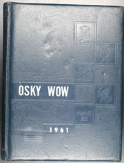 1961 Edition, Jackson High School - Osky Wow Yearbook (Jackson, OH)