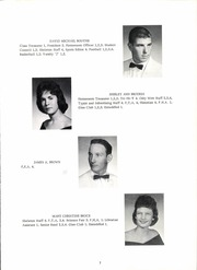 Page 11, 1961 Edition, Jackson High School - Osky Wow Yearbook (Jackson, OH) online yearbook collection