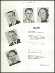 Page 16, 1952 Edition, Colerain High School - Cardinal Yearbook (Cincinnati, OH) online yearbook collection