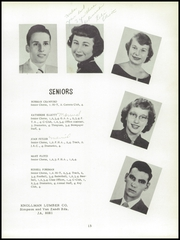 Page 17, 1952 Edition, Colerain High School - Cardinal Yearbook (Cincinnati, OH) online yearbook collection